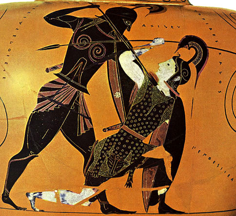 socrates and achilles View homework help - reading_questions_on_the_gorgias from fsem 104 at colgate callicles think of shame in the same way as the characters in the iliad , eg achilles and agamemnon.